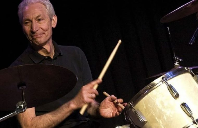 MORRE O BATERISTA DO ROLLING STONES CHARLIE WATTS